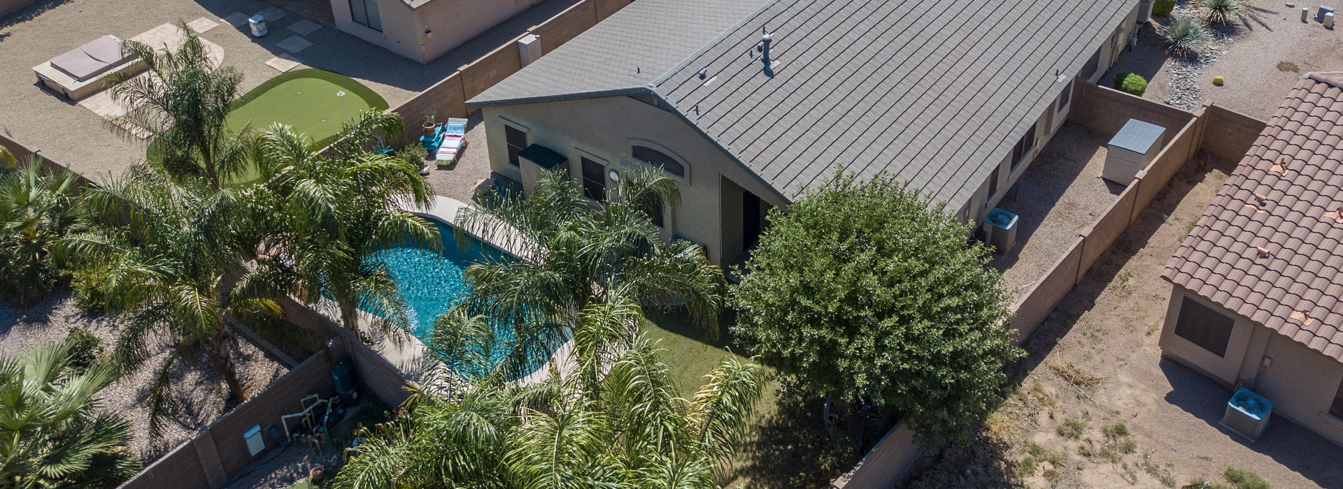 Aerial View of Home for Sale